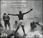 Haydn 2032, No. 6: Lamentatione