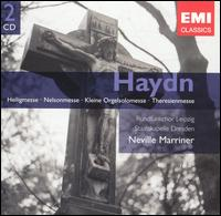 Haydn: Heiligmesse; Nelsonmesse; Kleine Orgelsolomesse; Theresienmesse - Barbara Hendricks (soprano); Carol Vaness (soprano); Carolyn Watkinson (contralto); Christine Schonknecht (soprano);...