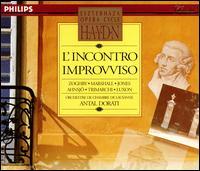 Haydn: L'Incontro Improvviso - Aldo Baldin (tenor); Benjamin Luxon (baritone); Claes-Håkan Ahnsjo (tenor); Della Jones (mezzo-soprano); Domenico Trimarchi (baritone); James Hooper (vocals); Jonathan Prescott (vocals); Linda Zoghby (vocals); Margaret Marshall (soprano)