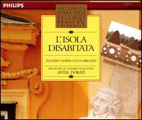 Haydn: L'Isola Disabitata - Jean Piguet (violin); Linda Zoghby (vocals); Luigi Alva (tenor); Norma Lerer (mezzo-soprano); Pablo Loerkens (cello); Renato Bruson (baritone); Lausanne Chamber Orchestra; Antal Doráti (conductor)