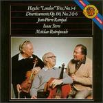 Haydn: London Trios; Divertissements