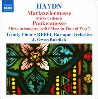 Haydn: Mariazellermesse; Paukenmesse - Ann Hoyt (soprano); Daniel Neer (tenor); Jorg-Michael Schwarz (lead); Kirsten Solleck-Avella (alto); Nathan Davis (tenor);...