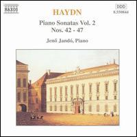 Haydn: Piano Sonatas Vol. 2, Nos. 42-27 - Jenö Jandó (piano)
