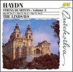 Haydn: String Quartets, Vol.3 - Bernard Gregor-Smith (cello); Peter Cropper (violin); Robin Ireland (viola); Ronald Birks (violin); The Lindsays