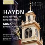 Haydn: Symphony No. 49; Symphony No. 87; Mozart: Sinfonia Concertante
