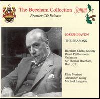 Haydn: The Seasons - Alexander Young (tenor); Elsie Morison (soprano); Michael Langdon (bass); Beecham Choral Society (choir, chorus);...