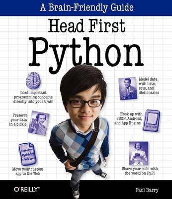Head First Python - Barry, Paul