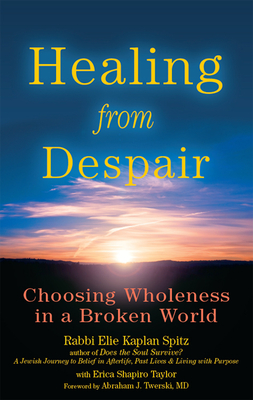 Healing from Despair: Choosing Wholeness in a Broken World - Spitz, Elie Kaplan, Rabbi, and Taylor, Erica Shapiro, and Twerski, Abraham J, Rabbi, M.D. (Foreword by)