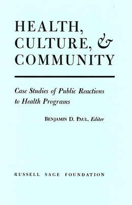 Health Culture and Community - Paul, Benjamin