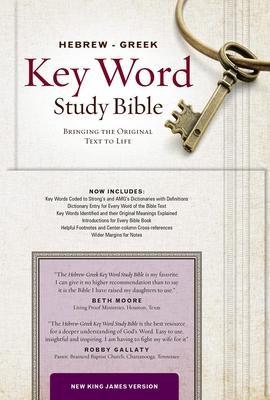 Hebrew-Greek Key Word Study Bible-NKJV - Publishers, Amg (Editor)