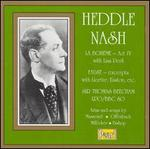 Heddle Nash sings La Boheme, Faust, Etc.
