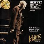 Heifetz Collection, Vol. 46: The Final Recital
