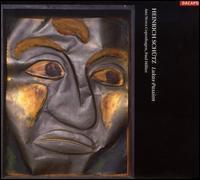 Heinrich Schütz: Lukas-Passion - Ars Nova Copenhagen; Asger Lynge Petersen (bass); Else Torp (soprano); Henrik Lund Petersen (bass);...