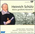 Heinrich Sch?tz: Complete Recording, Vol. 7: Kleine geistliche Konzerte 1