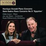 Henrique Oswald: Piano Concerto; Saint-Saëns: Piano Concerto No. 5 'Egyptian'