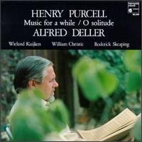 Henry Purcell: Music For A While - Alfred Deller (vocals); Jane Ryan (bass viol); Robert Elliott (organ); Roderick Skeaping (baroque violin);...