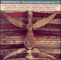 Henry Purcell: The Complete Anthems and Service, Vol. 4 - Charles Daniels (tenor); Eamonn O'Dwyer (treble); James Bowman (counter tenor); Jerome Finnis (treble);...