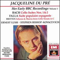 Her Early BBC Recordings, Vol. 1 - Ernest Lush (piano); Jacqueline du Pré (cello); Stephen Kovacevich (piano)