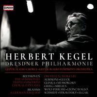 Herbert Kegel, Dresdner Philharmonie - Alison Hargan (soprano); Christian Funke (violin); Eberhard Büchner (tenor); Helmut Rucker (flute); Jurnjakob Timm (cello);...