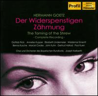 Hermann Goetz: Der Widerspenstigen Zähmung - Annelies Kupper (vocals); Benno Kusche (vocals); Elisabeth Lindermeier (vocals); Gertrud Vollrad (vocals);...
