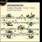 Hindemith: Ludus Tonalis; Suite '1922'
