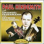 Hindemith: Sonata for Solo Viola, Op. 25/1, etc.