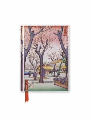 Hiroshige: Plum Garden (Foiled Pocket Journal) - Flame Tree Studio (Creator)