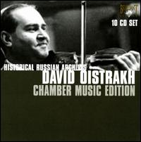 Historic Russian Archives: David Oistrakh - Abram Makarov (piano); Alexander Goldenweiser (piano); David Oistrakh (violin); Frida Bauer (piano); Igor Oistrakh (violin);...