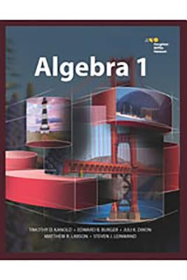 Hmh Algebra 1: Student Edition 2015 - Houghton Mifflin Harcourt (Prepared for publication by)