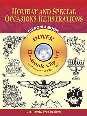 Holiday and Special Occasions Illustrations CD-ROM and Book - Dover Publications Inc
