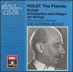 Holst: The Planets; Elgar: Introduction and Allegro for Strings