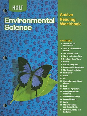 Holt Environmental Science Active Reading Workbook - Holt Rinehart & Winston (Creator)