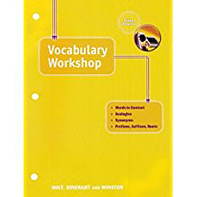 Holt Traditions Vocabulary Workshop: Vocab Workshop Grade 11 - Holt Rinehart & Winston, and Holt Rinehart and Winston (Prepared for publication by)