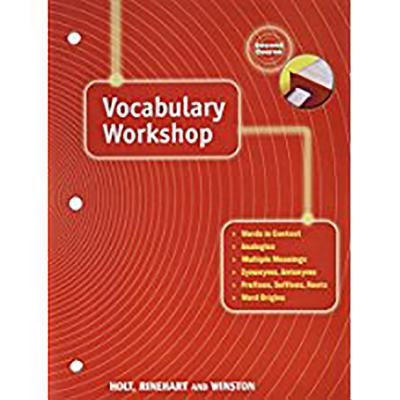 Holt Traditions Vocabulary Workshop: Vocab Workshop Grade 8 - Holt Rinehart & Winston, and Holt Rinehart and Winston (Prepared for publication by)