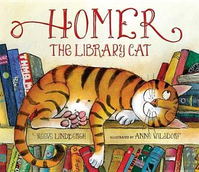 Homer, the Library Cat - Lindbergh, Reeve