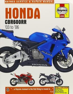 Honda CBR600RR Service and Repair Manual -