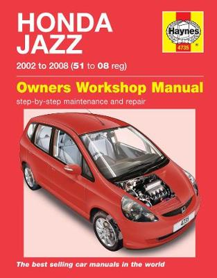 Honda Jazz Service and Repair Manual -