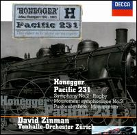 Honegger: Orchestral Works - Zurich Tonhalle Orchestra; David Zinman (conductor)