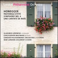 Honegger: Pastorale d'été; Symphony No. 4; Une Cantate de Noël - Christopher Maltman (baritone); New London Children's Choir; London Philharmonic Choir (choir, chorus);...