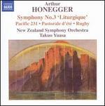 """Honegger: Symphony No. 3 (""""Liturgique""""), etc."""