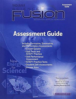 houghton mifflin harcourt science fusion indiana assessment guide rh alibris com Harcourt Science Grade 5 Picture Cards harcourt science assessment guide grade 5