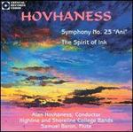 "Hovhaness: Symphony No. 23 ""Ani""; The Spirit of Ink"