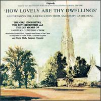How Lovely Are Thy Dwellings - Andrew Mackay (alto); Christopher Knowles (bass); David Halls (organ); Dennis Whitehead (tenor); John Robinson (bass);...