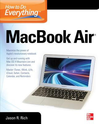 How to Do Everything Macbook Air - Rich, Jason R