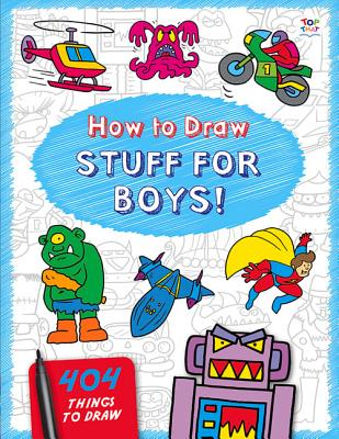 How to Draw Stuff for Boys - Lambert, Nat
