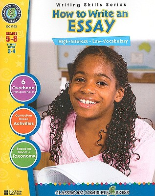 How to Write an Essay, Grades 5-8 - Rollins, Brenda Vance