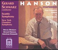 Howard Hanson: Complete Symphonies and Other Works (Box Set) - Carol Rosenberger (piano); Judith Mendenhall (flute); Michael Crusoe (tympani [timpani]); Randolph Baunton (drums);...