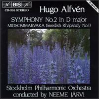 Hugo Alfven: Midsommarvaka/Symphony No.2 in D Major Op.11 - Stockholm Philharmonic Orchestra; Neeme Järvi (conductor)