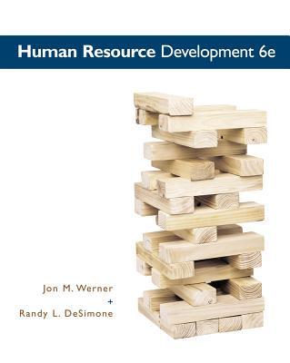 Human Resource Development - Werner, Jon M