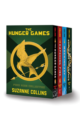 Hunger Games 4-Book Hardcover Box Set (the Hunger Games, Catching Fire, Mockingjay, the Ballad of Songbirds and Snakes) - Collins, Suzanne